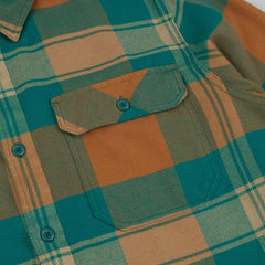 Patagonia Fjord Flannel Shirt - Terrace: Arbor Green