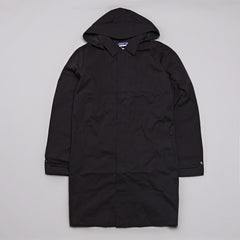 Patagonia Fogbank Trench Coat Black