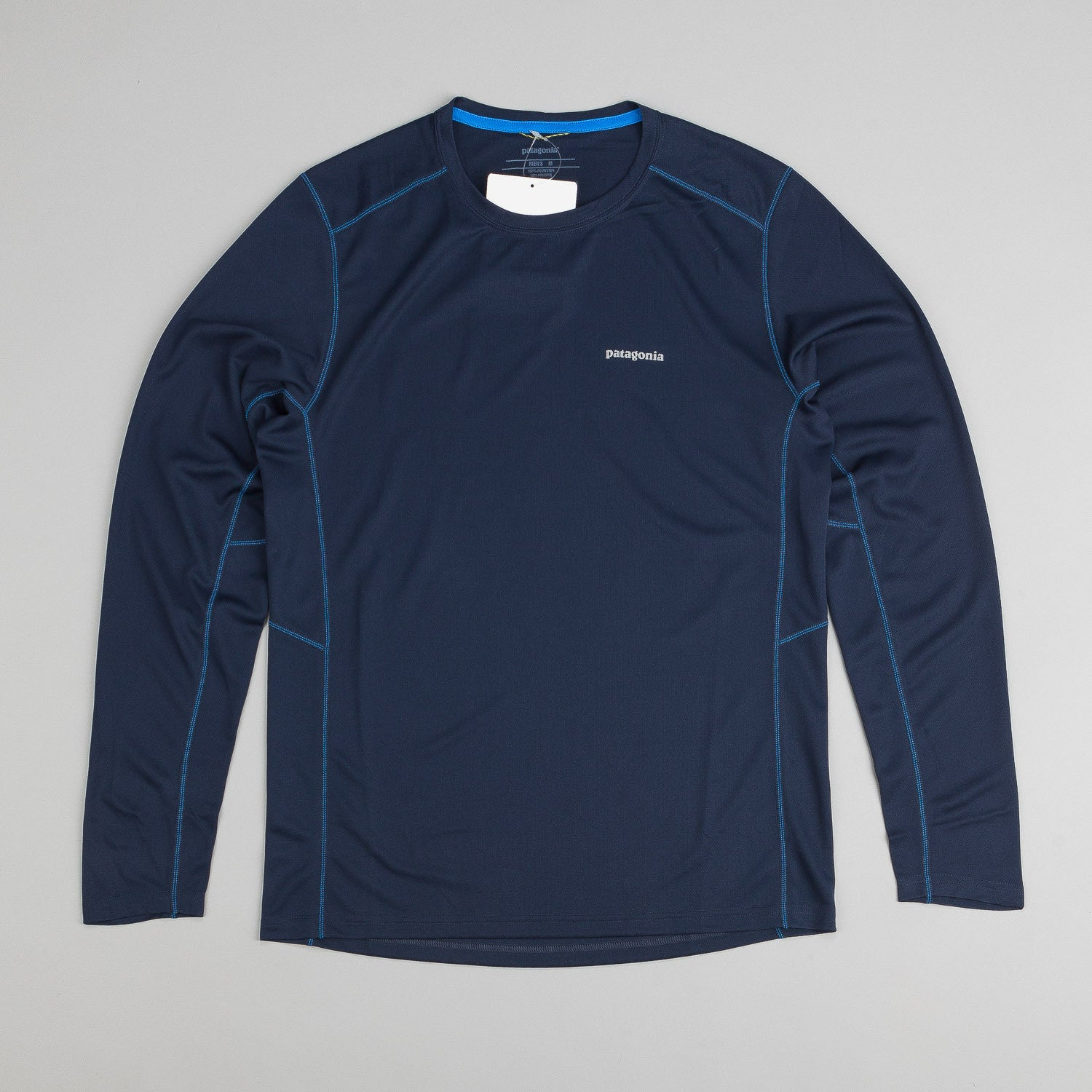 Patagonia Fore Runner L/S T-Shirt - Navy Blue