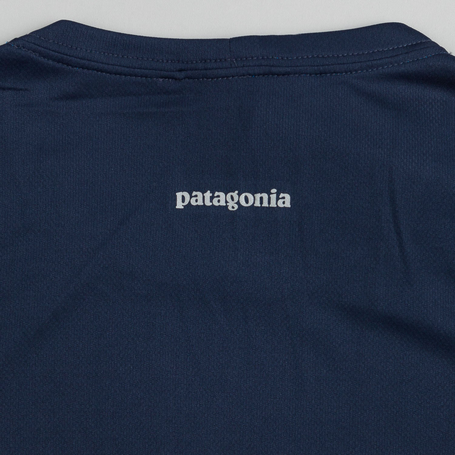 Patagonia Fore Runner Long Sleeve T-Shirt - Navy Blue