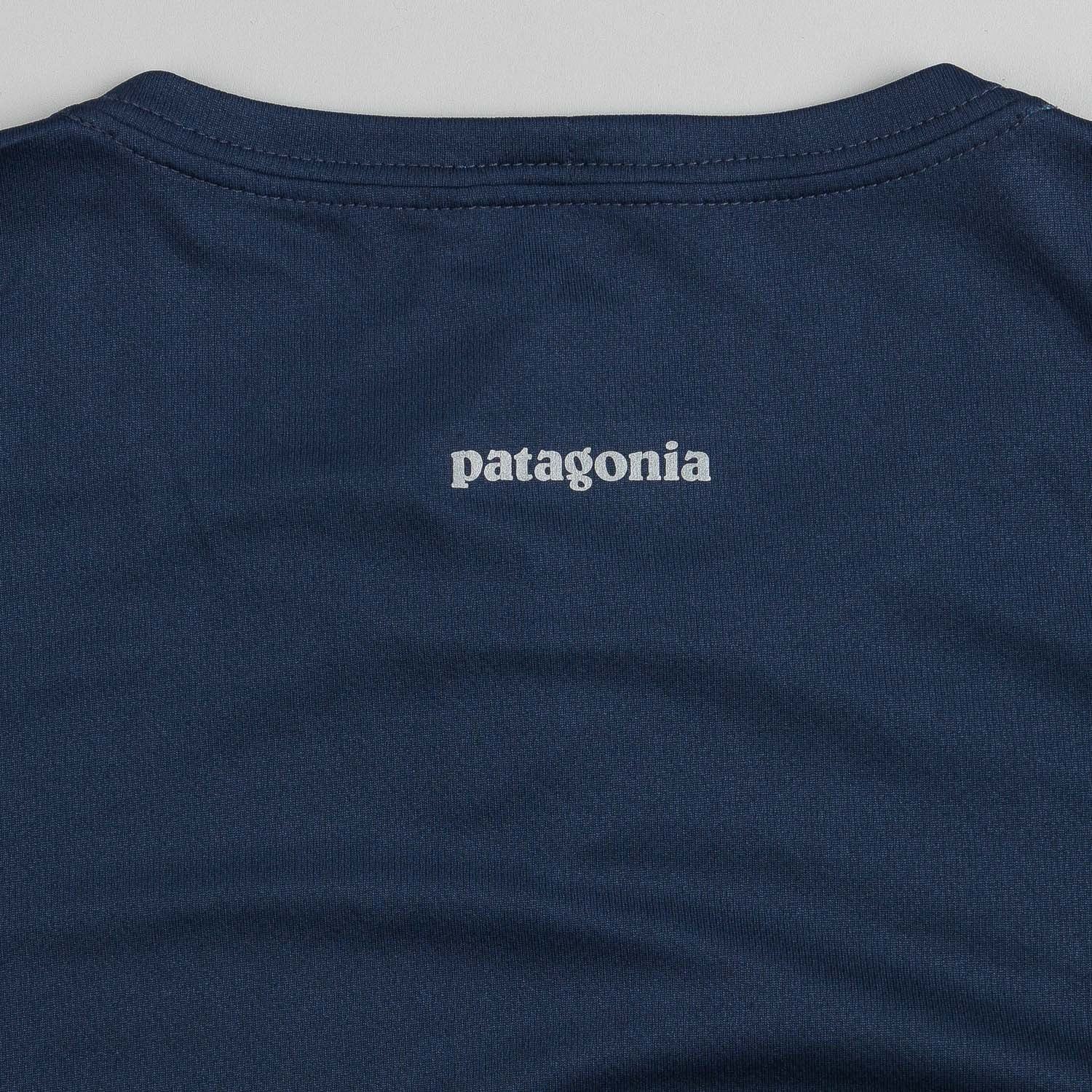 Patagonia Fore Runner T-Shirt - Navy Blue