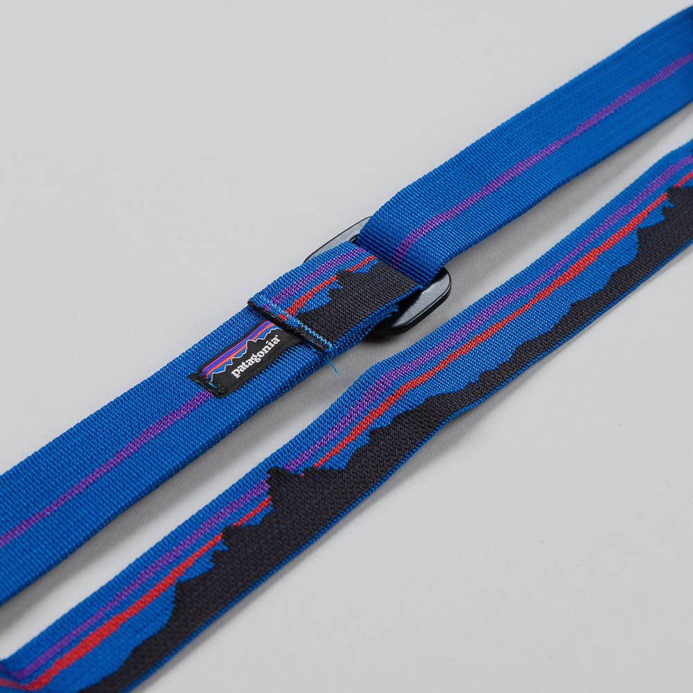 Patagonia Friction Belt - Fitz Roy: Bali Blue