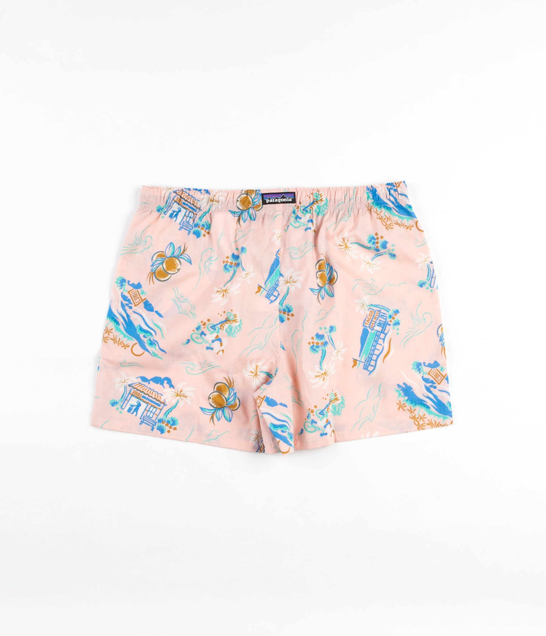 Patagonia Go-To Boxers - C Street / Feather Pink