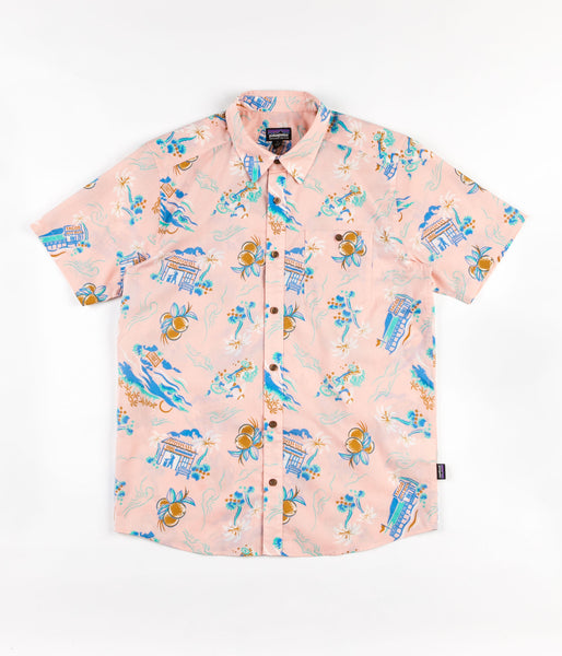 Patagonia Go-To Shirt - C Street / Feather Pink