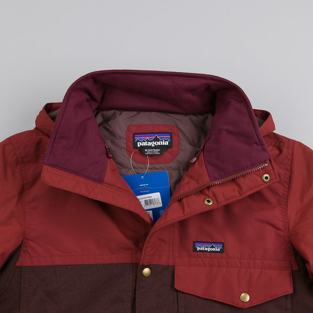 Patagonia Hybrid Mountain Parka Java Brown