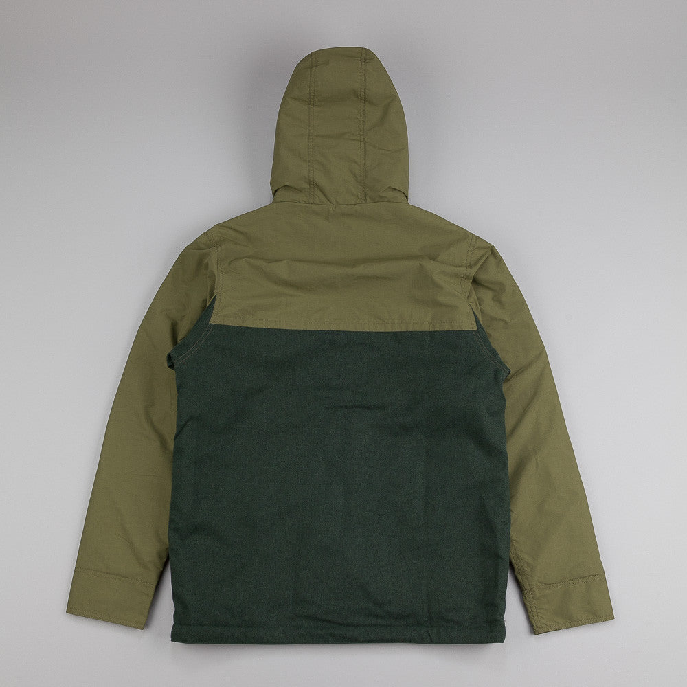 Patagonia Hybrid Mountain Parka Smoked Green
