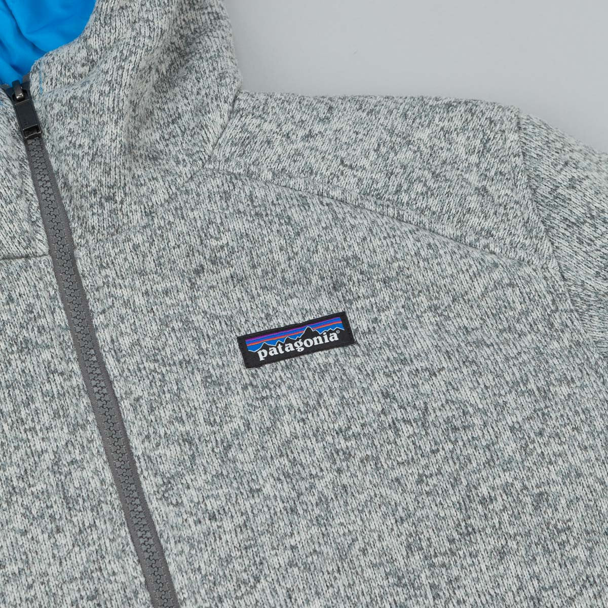 Patagonia Insulated Better Sweater Hooded Fleece - Stonewash