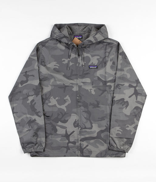 Patagonia Light & Variable Hooded Jacket - Forest Camo / Forge Grey