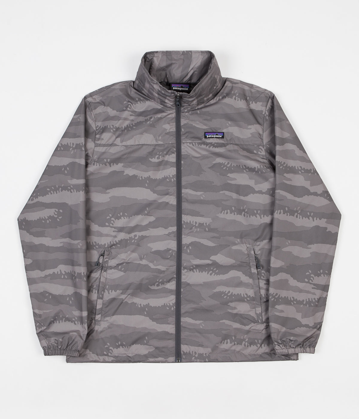 Patagonia Light Amp Variable Jacket Rock Camo Hex Grey