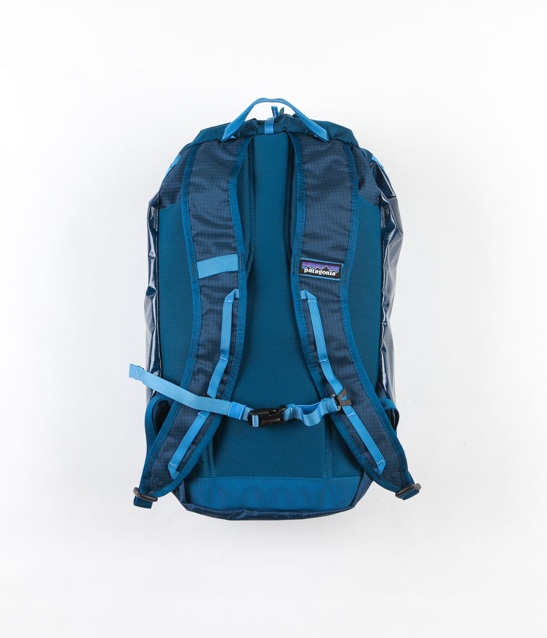 Patagonia Lightweight Black Hole Cinch Bag - Big Sur Blue