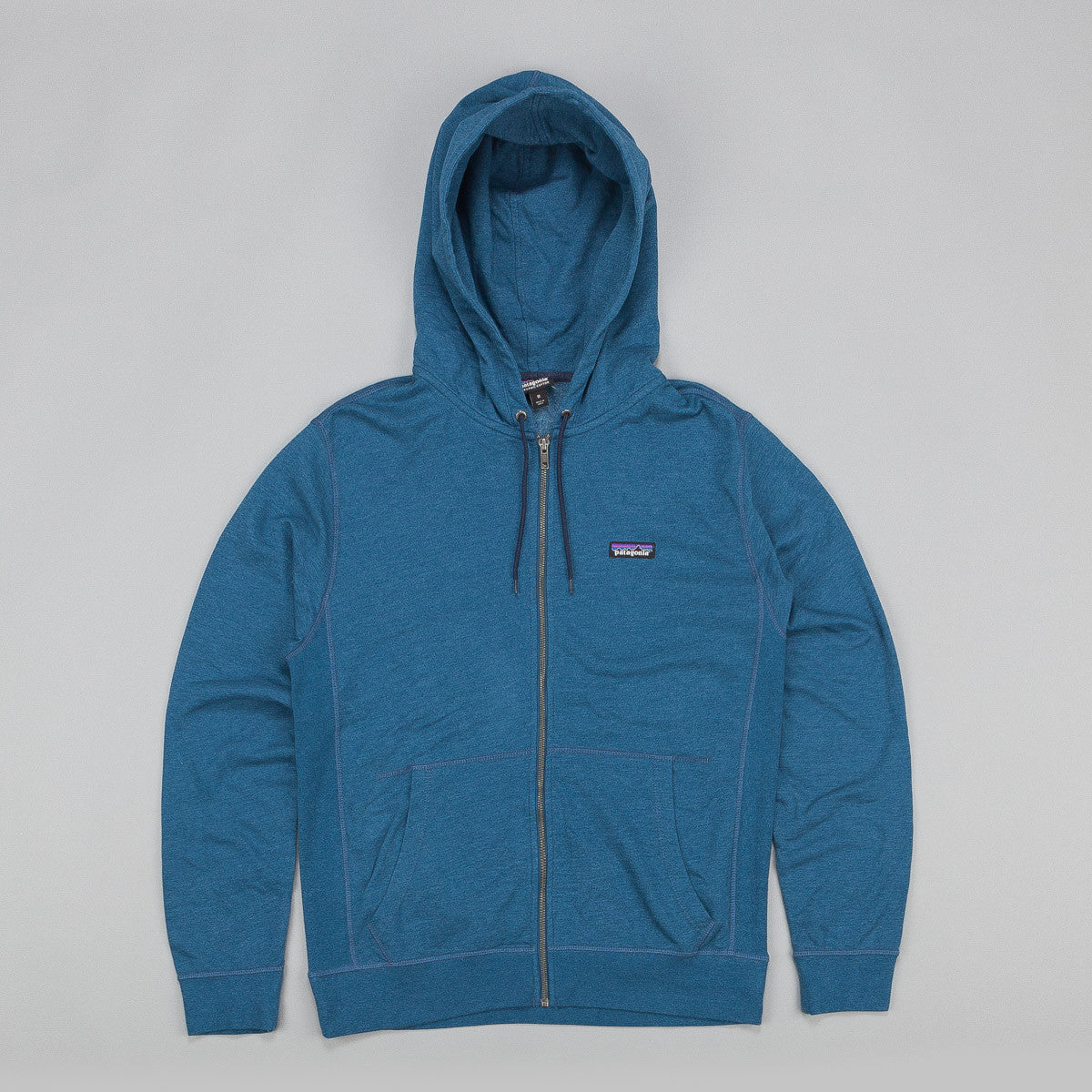 Patagonia Lightweight Full Zip Hooded Sweatshirt