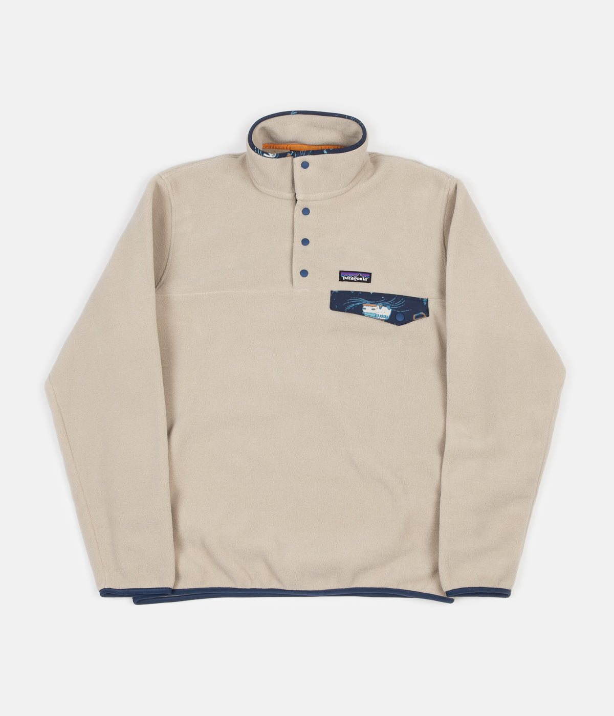 Patagonia Lightweight Synchilla Snap-T Pullover Jacket - El Cap Khaki