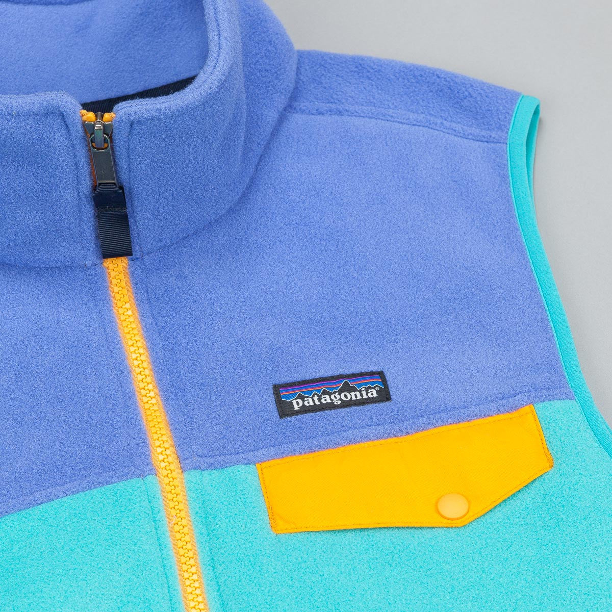 Patagonia Lightweight Synchilla Snap-T Vest Fleece - Howling Turquoise