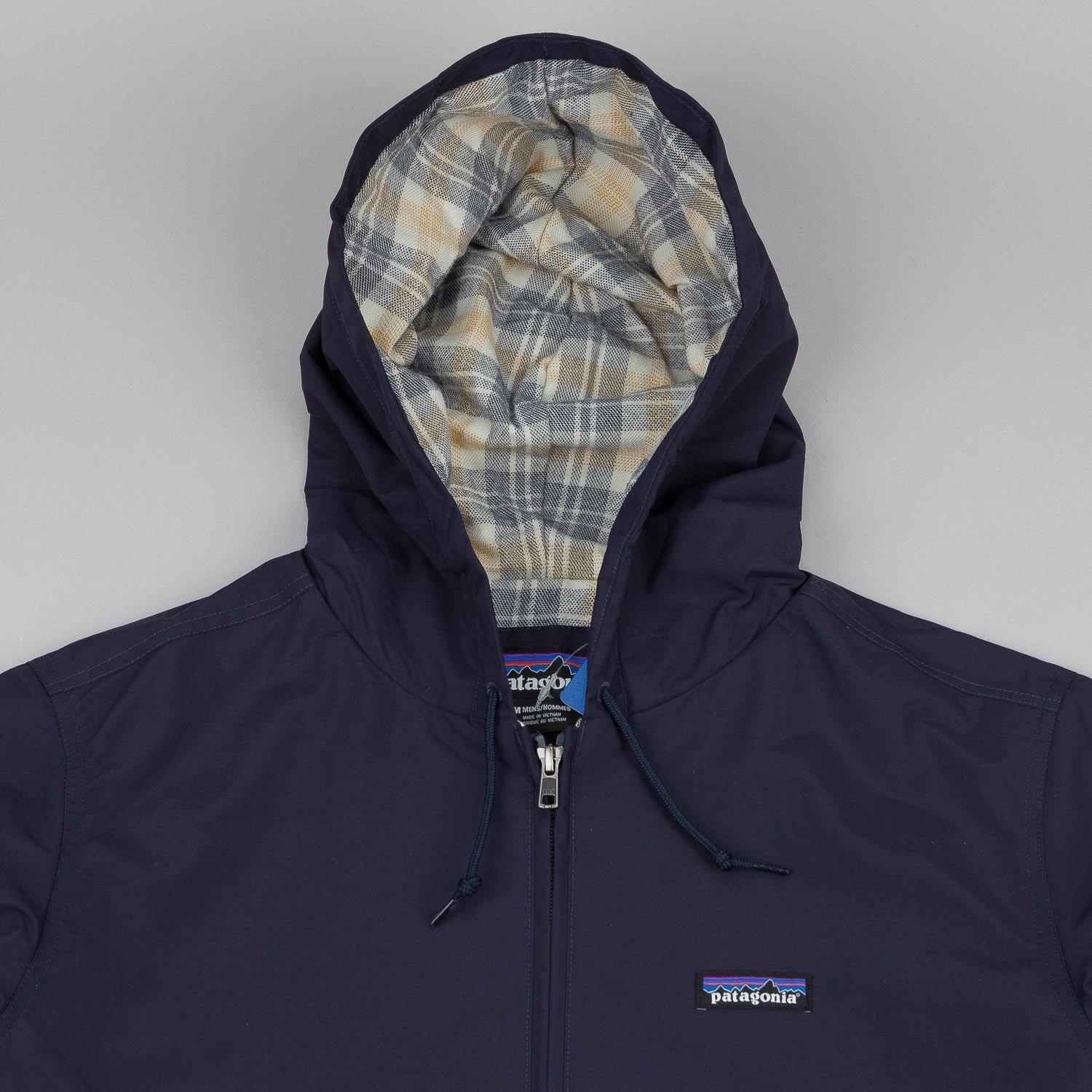 Patagonia Lined Baggies Jacket - Blue Black