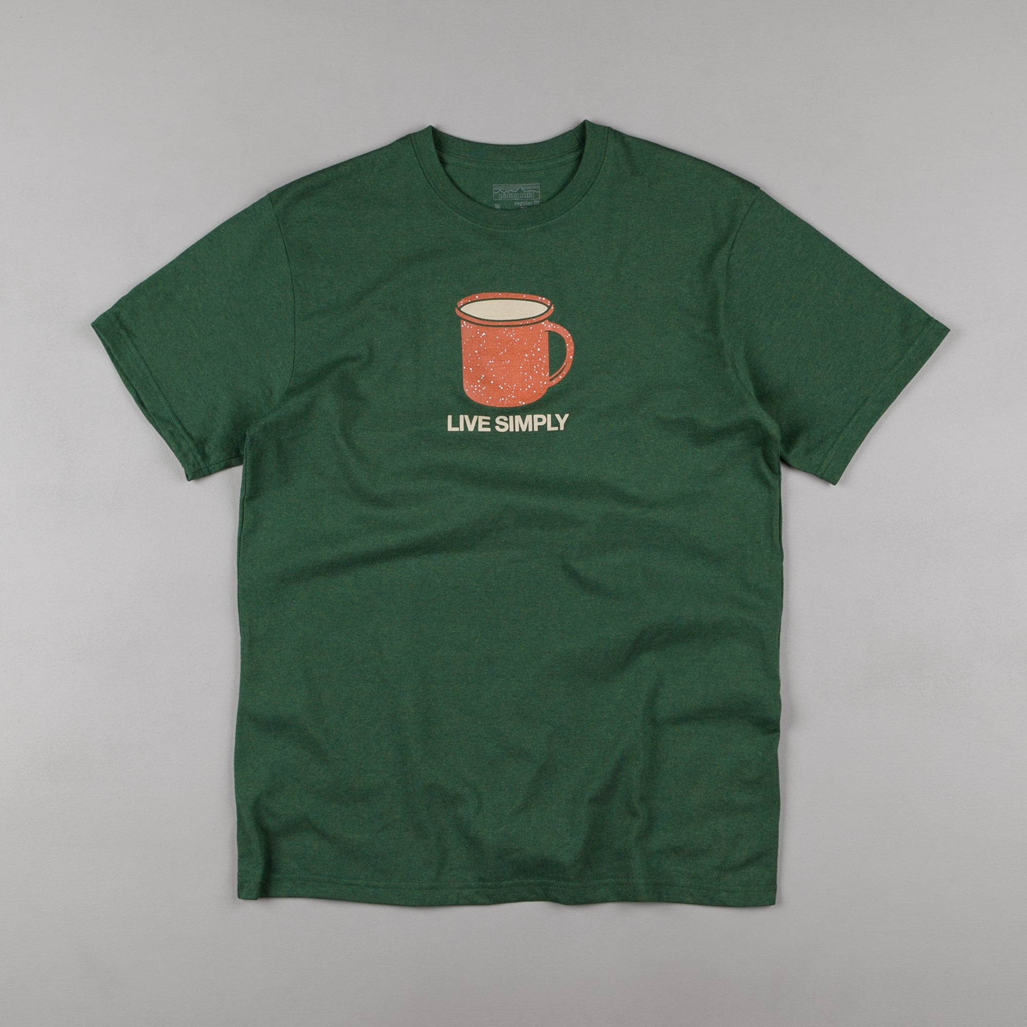 Patagonia Live Simply Mornings T-Shirt - Riparian Forest