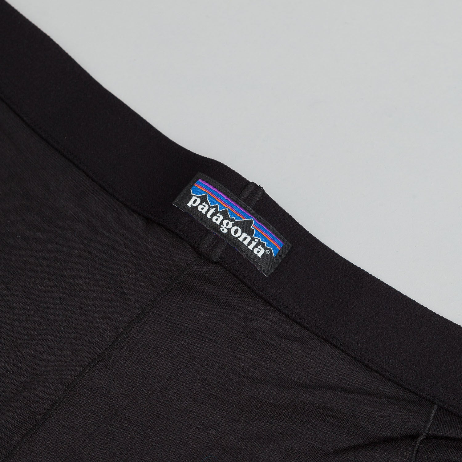Patagonia Mens Merino Boxer Briefs - Black