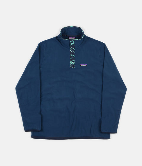 Patagonia Micro D Snap-T Pullover Fleece - Stone Blue