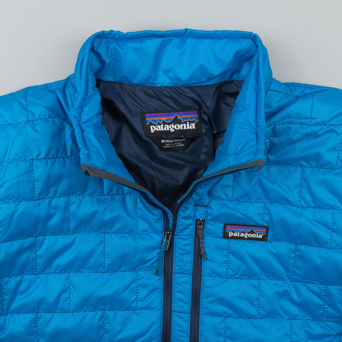Patagonia Nano Puff Pullover Jacket - Electron Blue