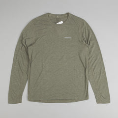 Patagonia Nine Trails L/S T-Shirt - Basin Green