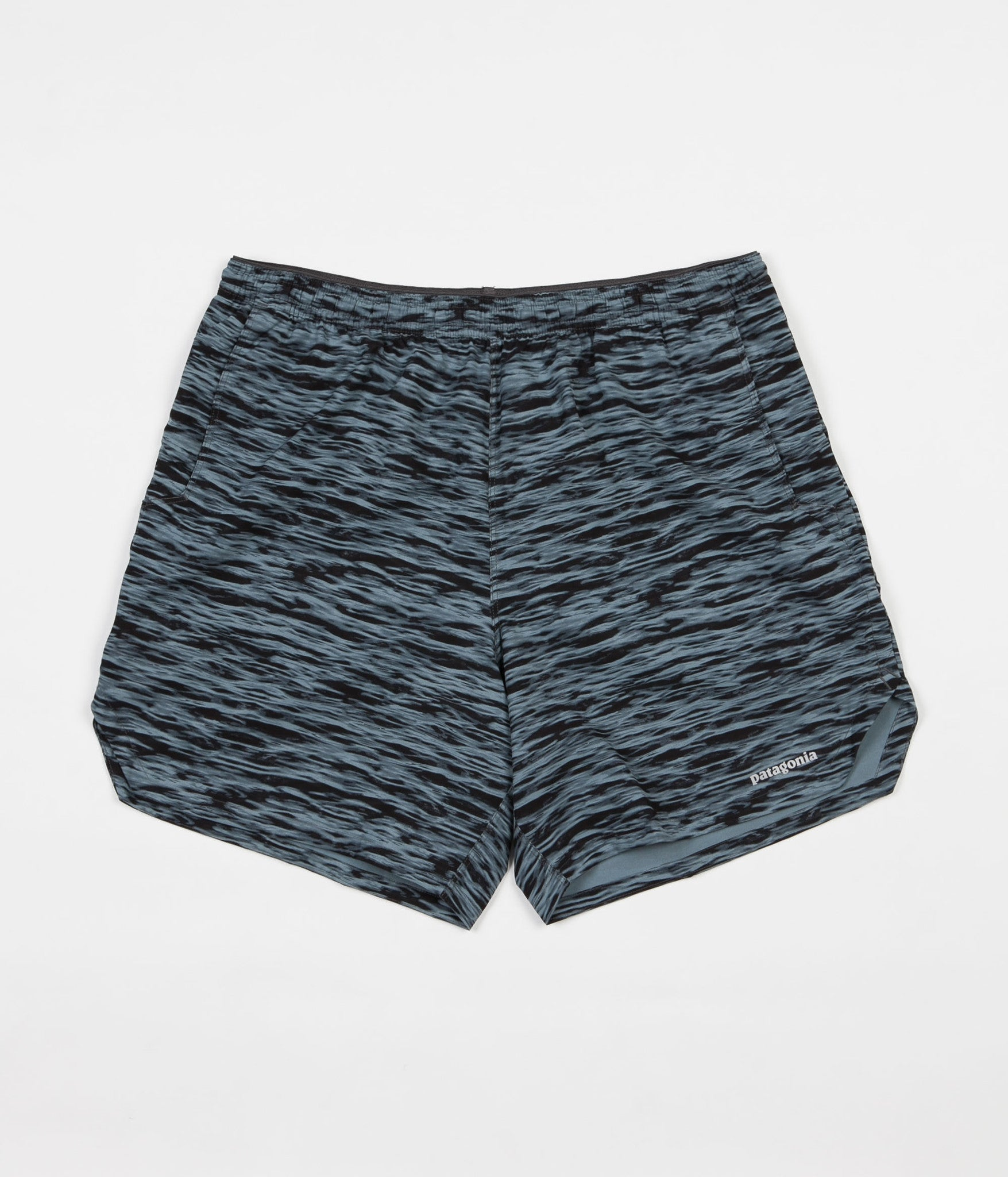 Patagonia Nine Trails Unlined Shorts - Open Oceans / Nouveau Green