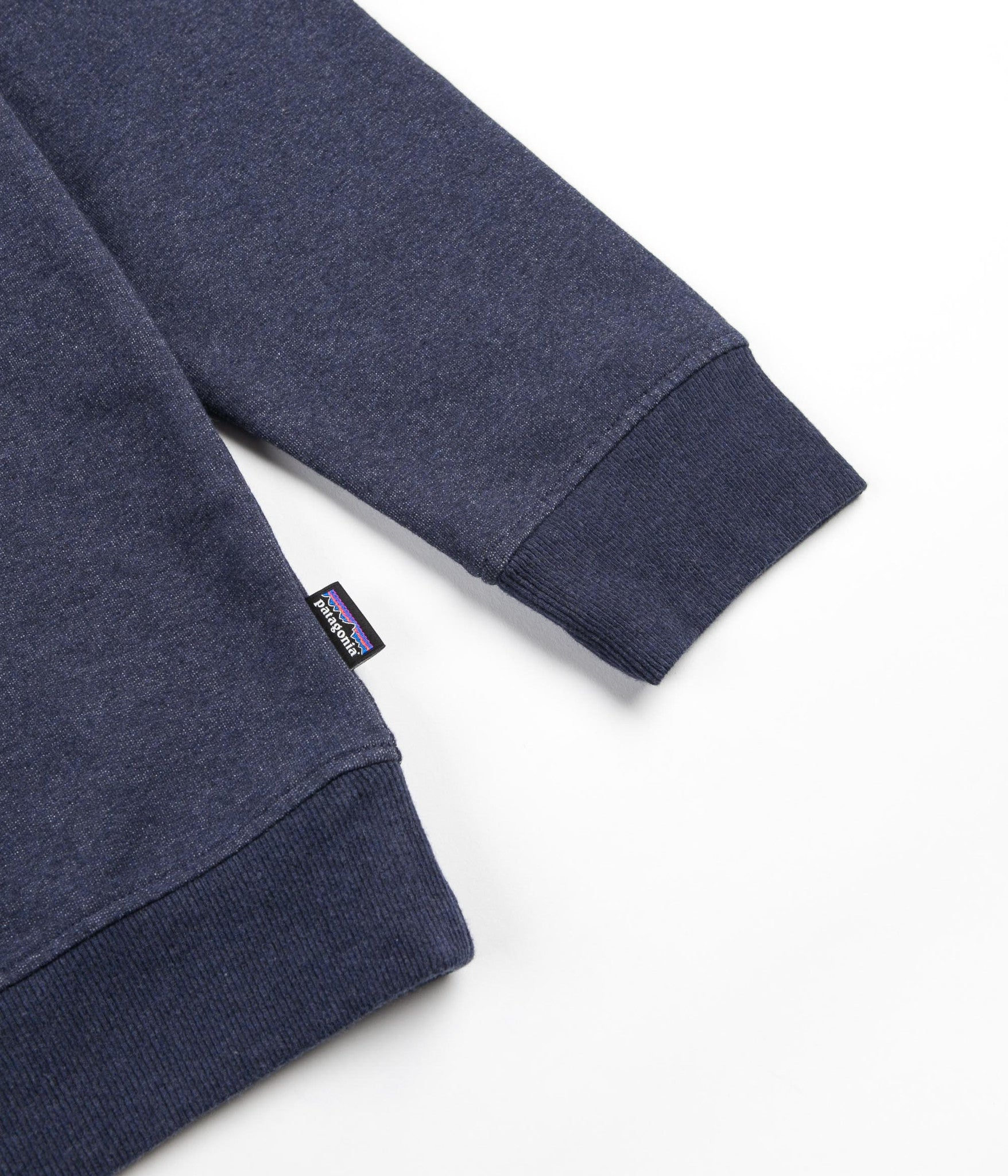 Patagonia P-6 Label Crewneck Sweatshirt - Navy Blue