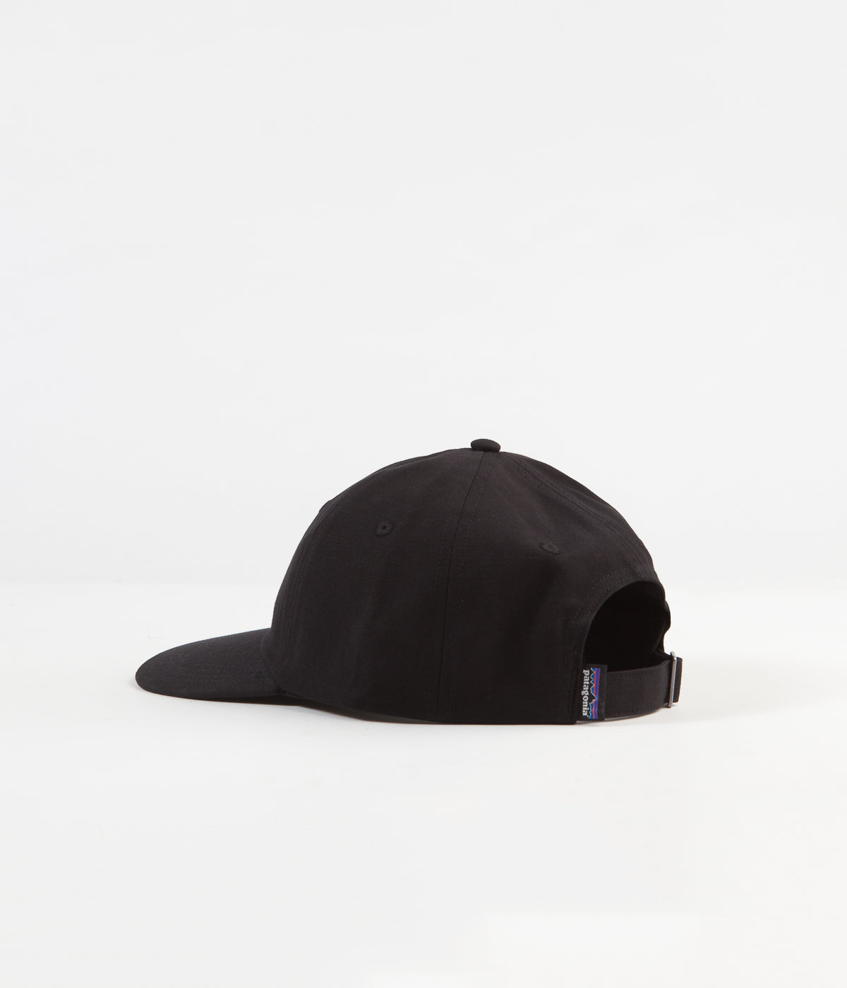 Patagonia P-6 Label Trad Cap - Black
