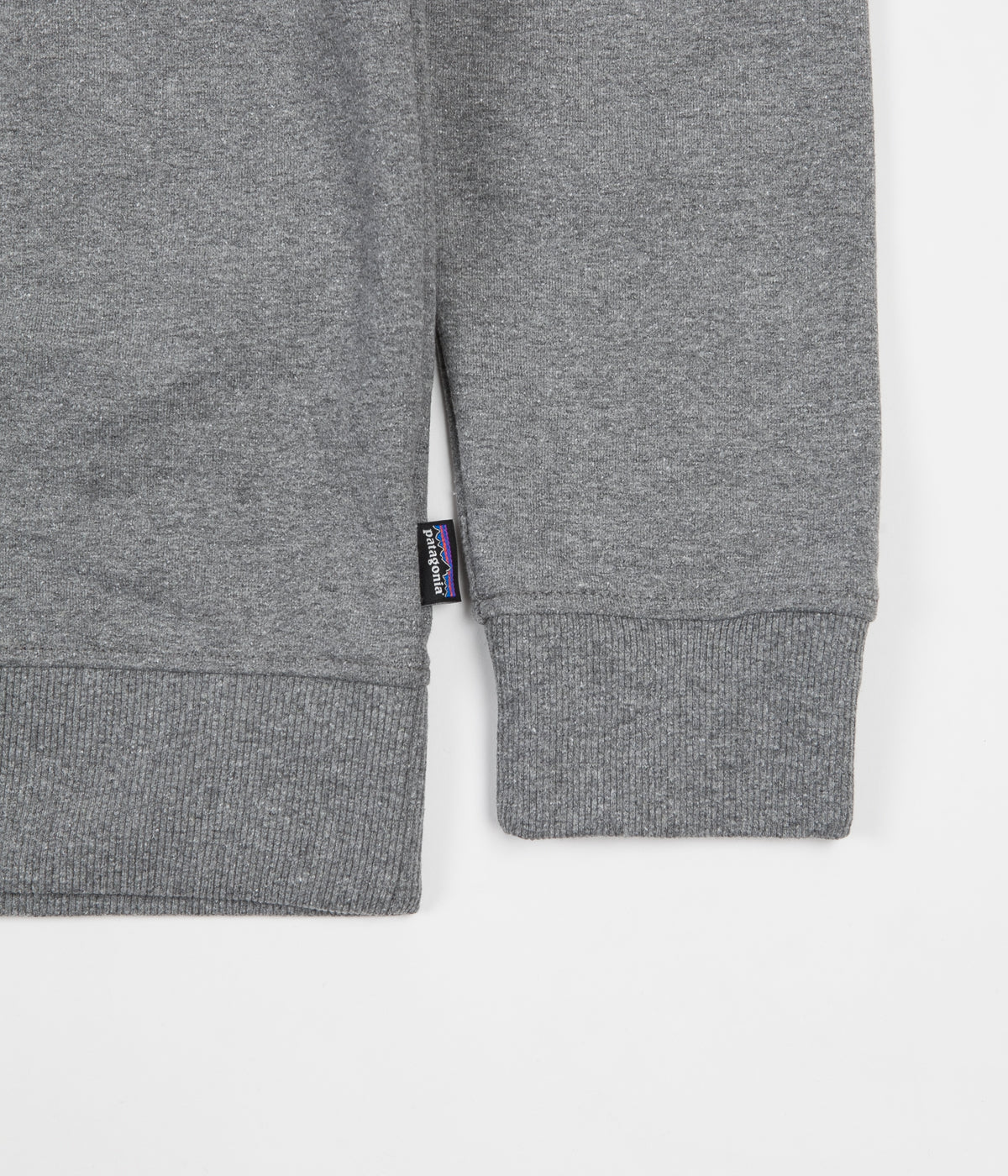 Patagonia P-6 Label Uprisal Crewneck Sweatshirt - Gravel Heather