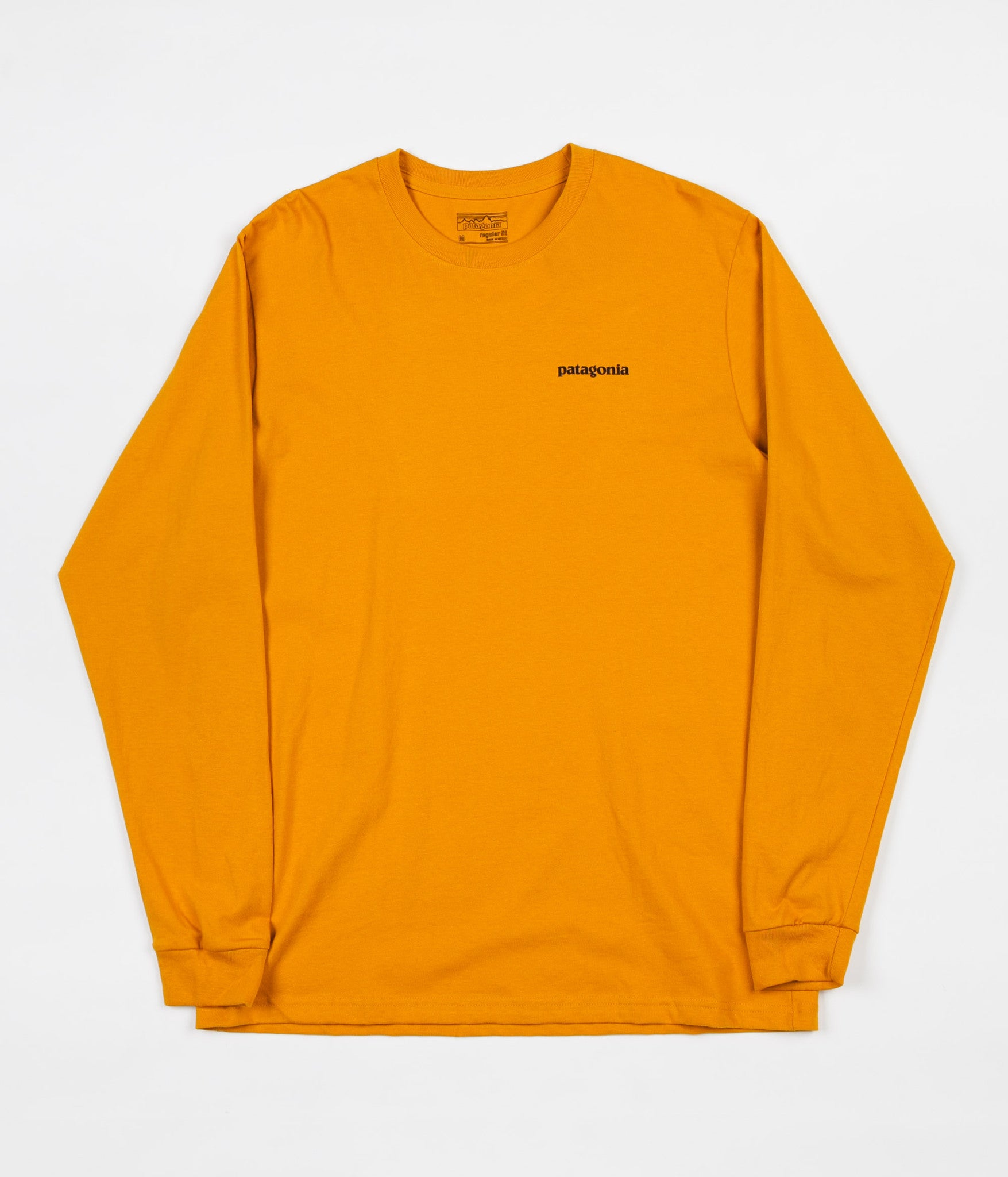Patagonia P-6 Logo Long Sleeve T-Shirt - Ysidro Yellow