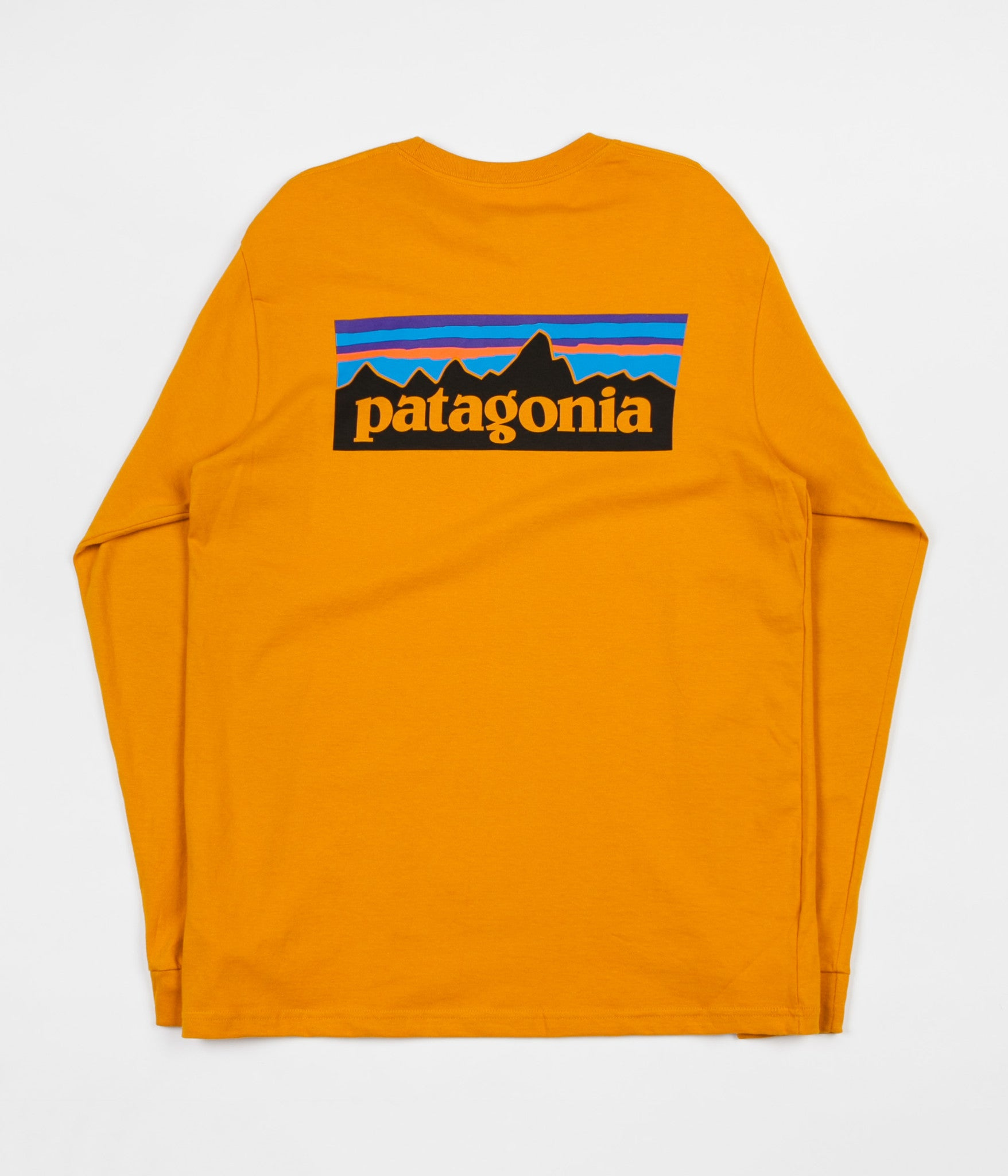 34757d023 Patagonia P-6 Logo Long Sleeve T-Shirt - Ysidro Yellow
