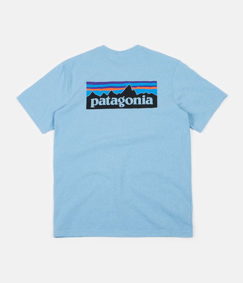 Patagonia P-6 Logo Responsibili-Tee T-Shirt - Break Up Blue