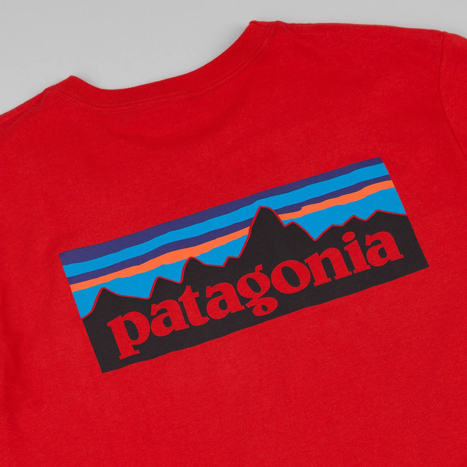 Patagonia P-6 Logo T-Shirt - Cochineal Red