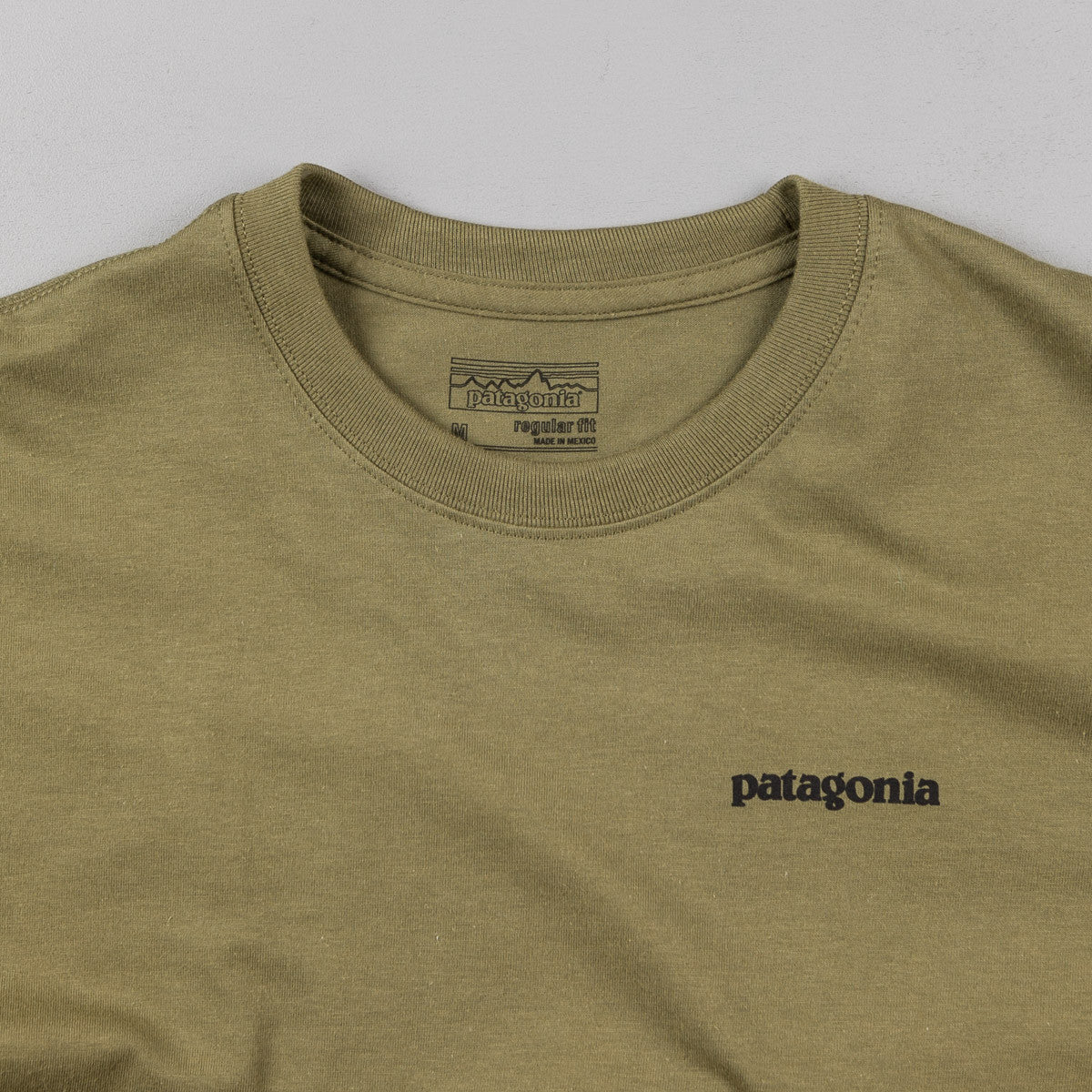 Patagonia P-6 Logo T-Shirt - Fatigue Green
