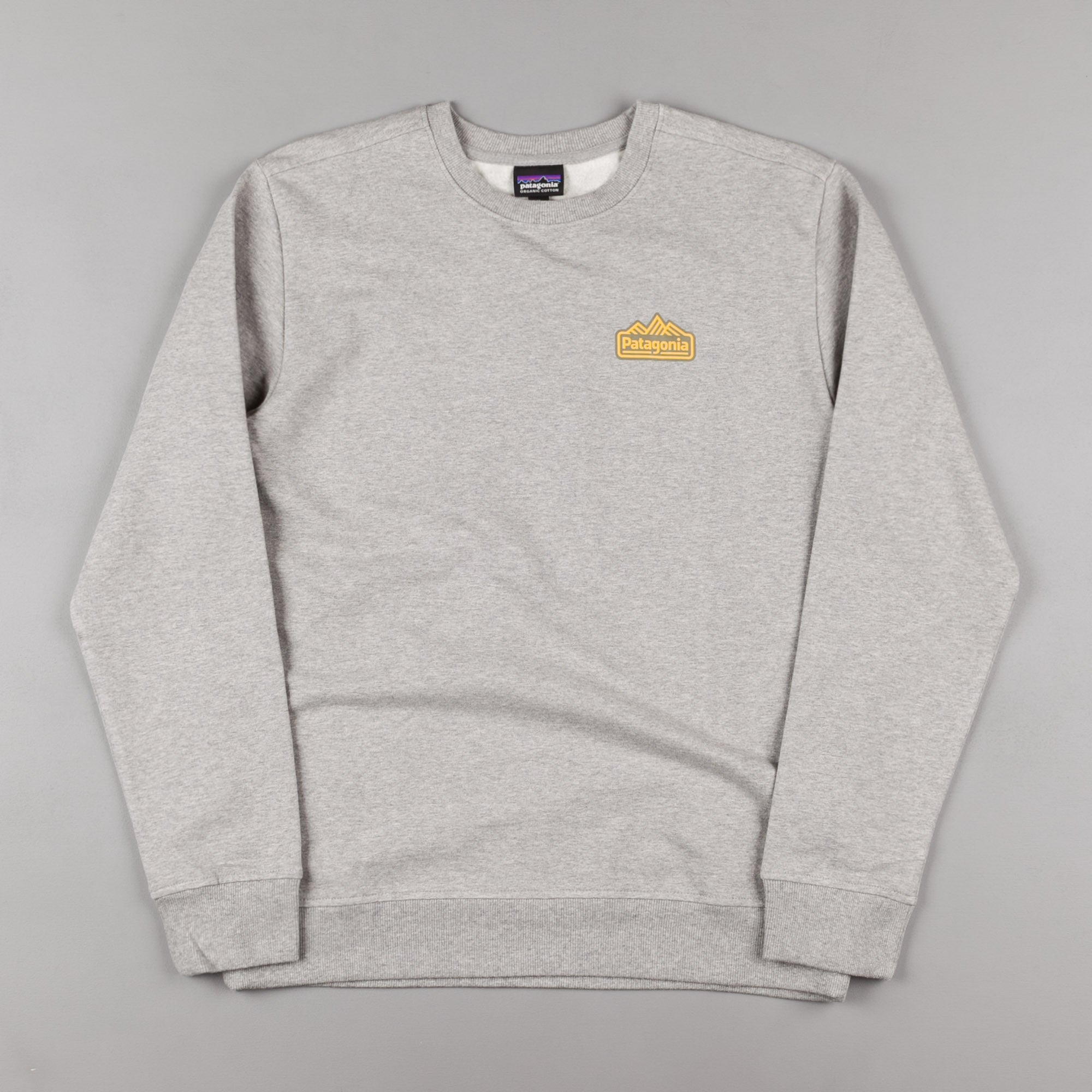 Patagonia Range Station Midweight Crewneck Sweatshirt - Feather Grey