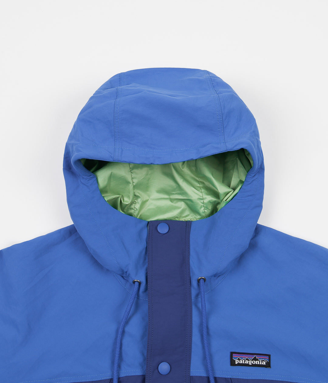 Patagonia Recycled Nylon Parka - Superior Blue
