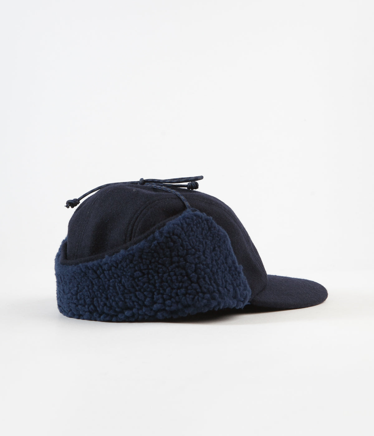 d1fd205bf6928 ... Patagonia Recycled Wool Ear Flap Cap - Classic Navy ...