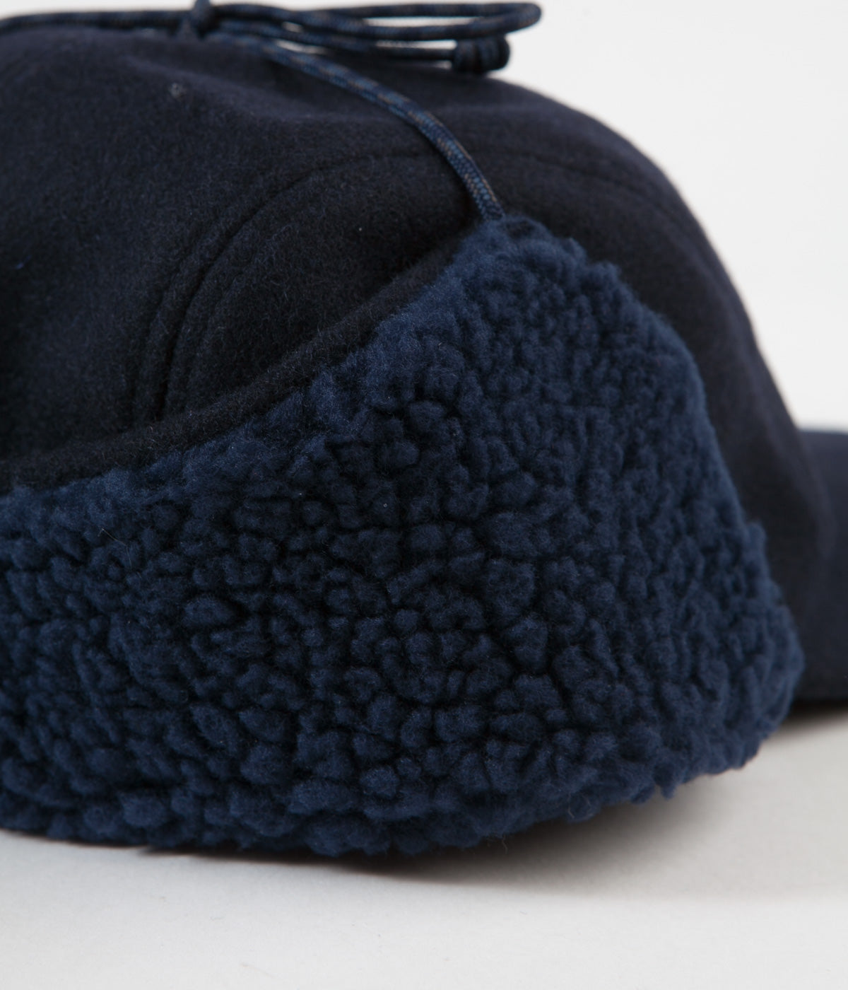 ced731f4fc5 Patagonia Recycled Wool Ear Flap Cap - Classic Navy ...