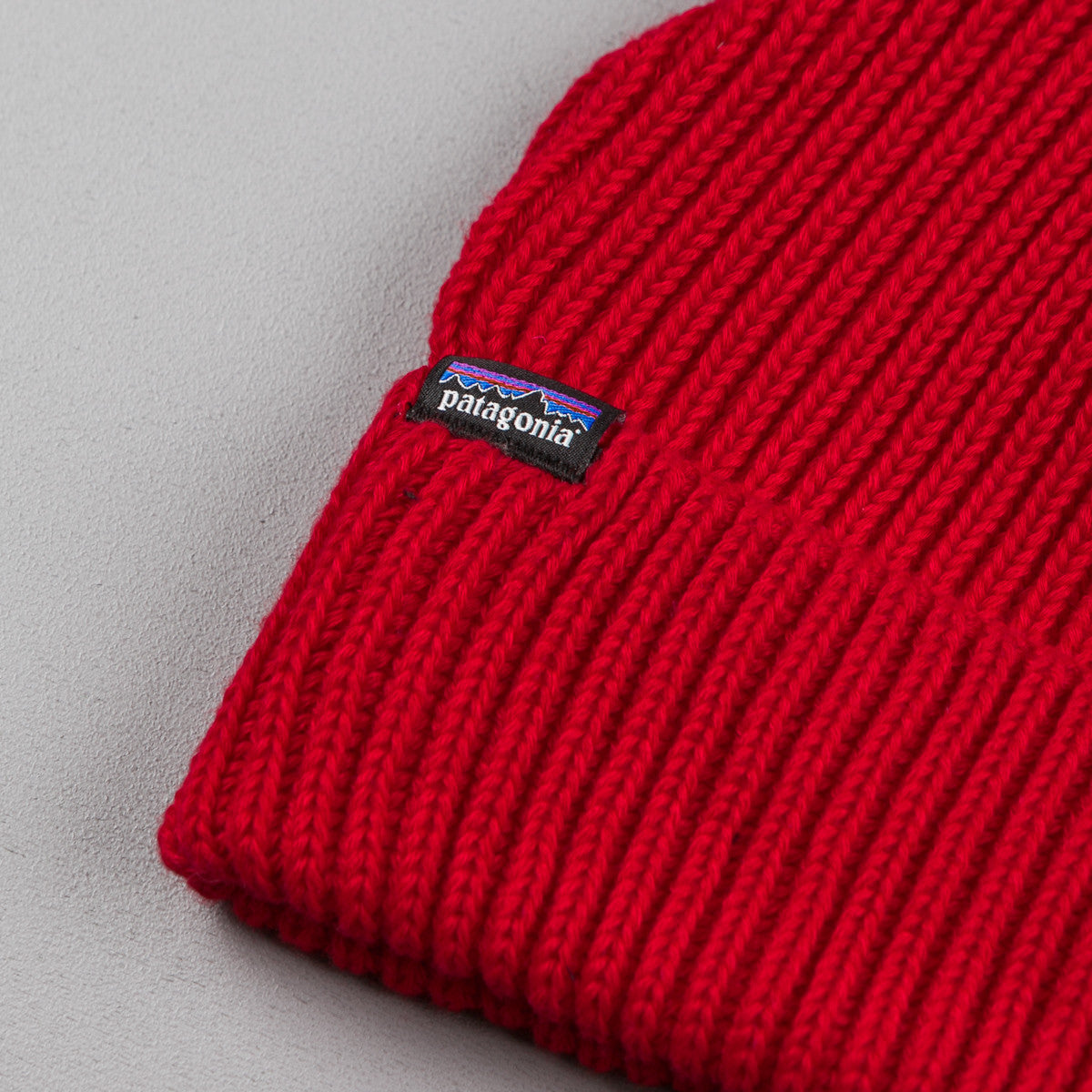 Patagonia Fisherman's Rolled Beanie -  French Red