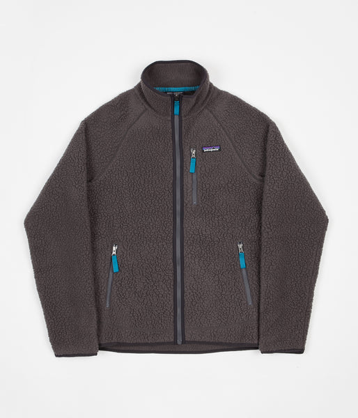 Patagonia Retro Pile Fleece Jacket - Forge Grey
