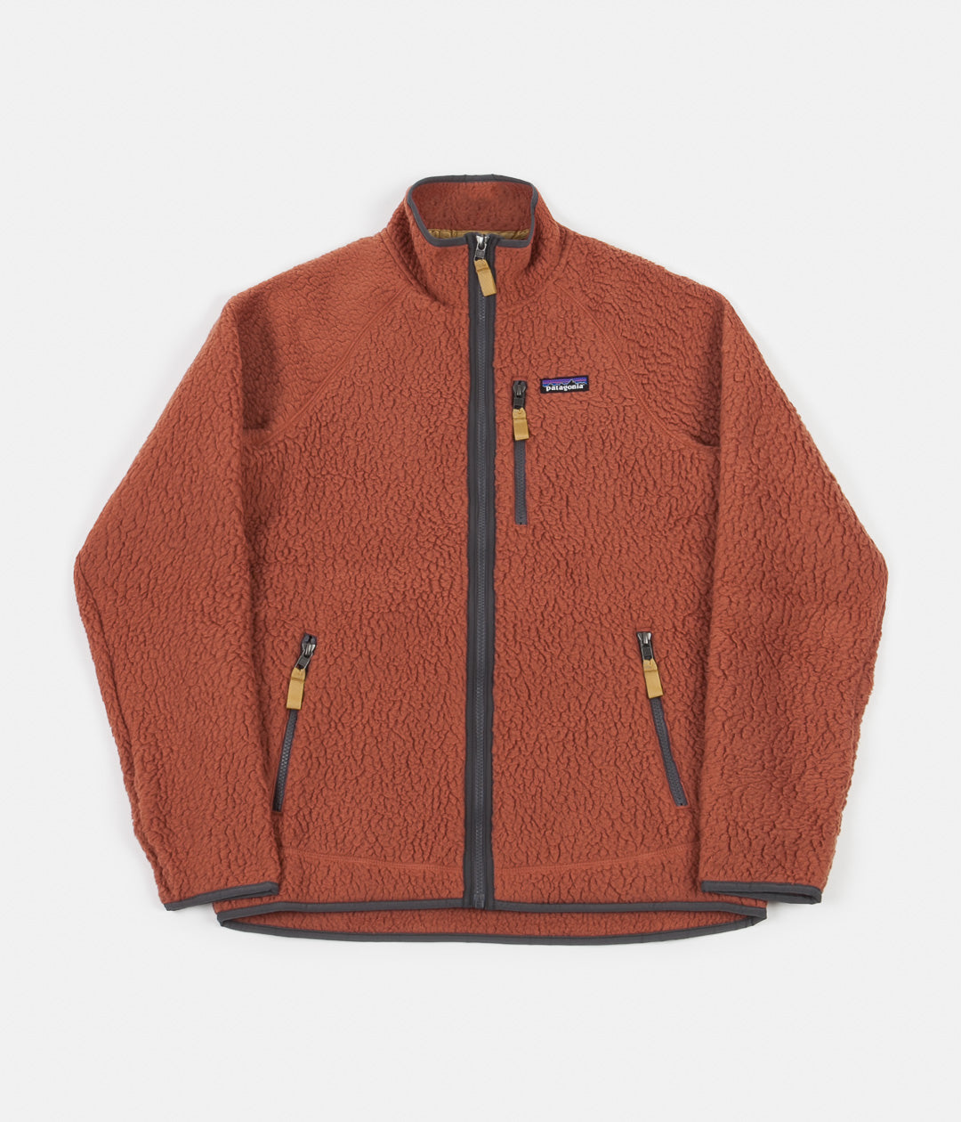 Patagonia Retro Pile Fleece Jacket - Spanish Red