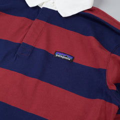 Patagonia Sender Rugby Shirt Rusted Iron