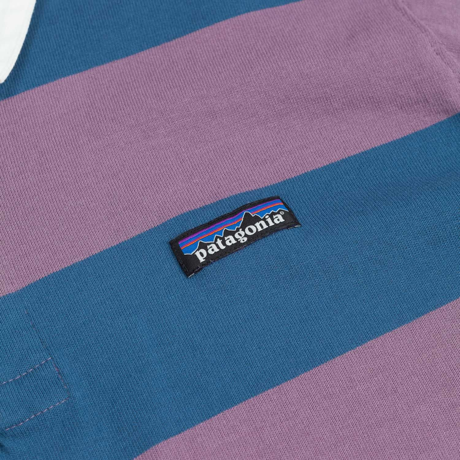 Patagonia Sender Short Sleeve Rugby Shirt - Tyrian Purple