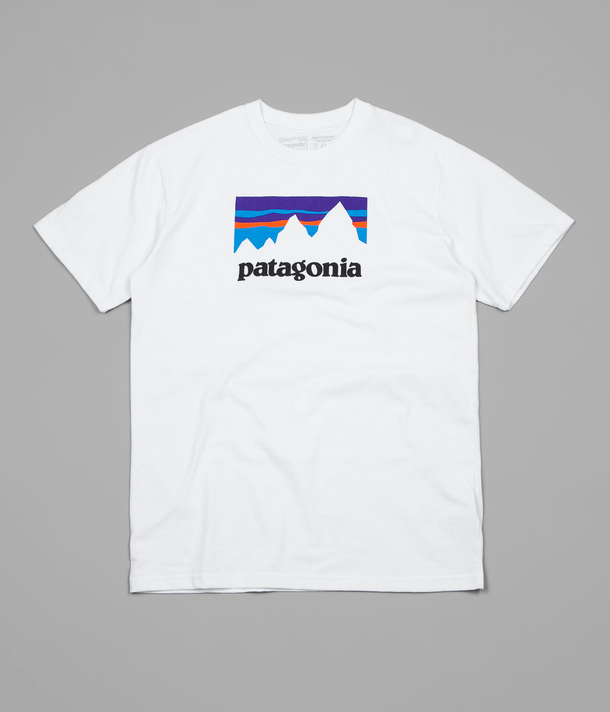 Patagonia Shop Sticker Responsibili-Tee T-Shirt - White