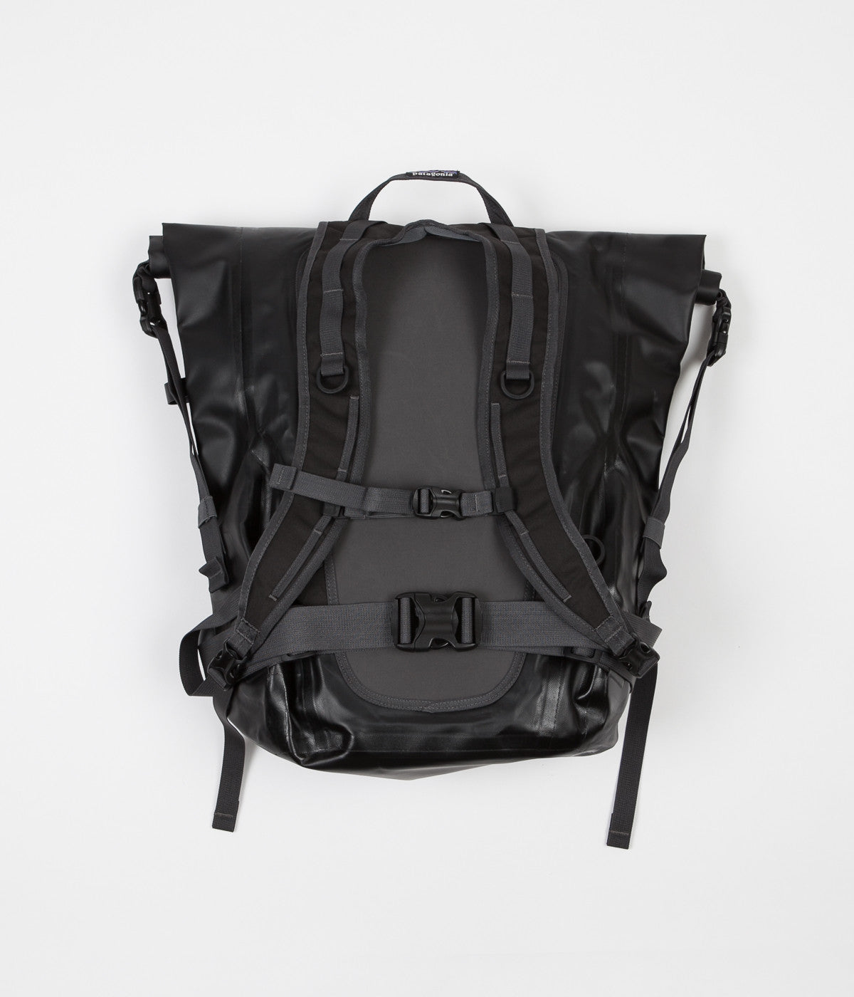 Patagonia Stormfront Roll Top Backpack - Black