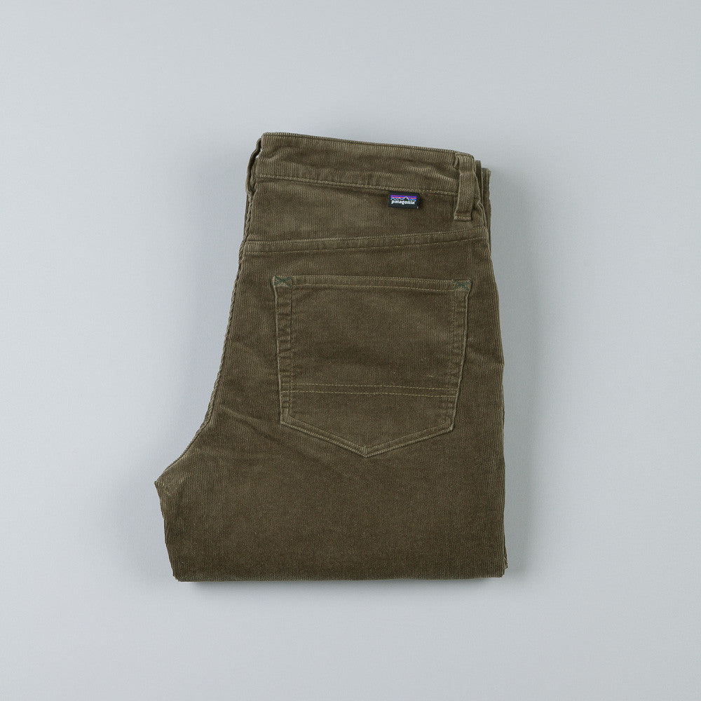 Patagonia Straight Cord Trousers Alpha Green