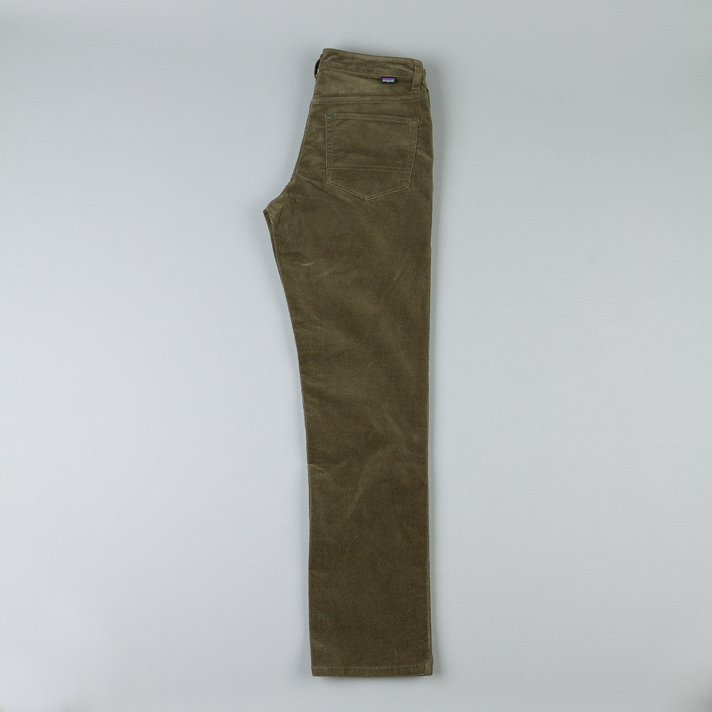 Patagonia Straight Cord Trousers - Alpha Green