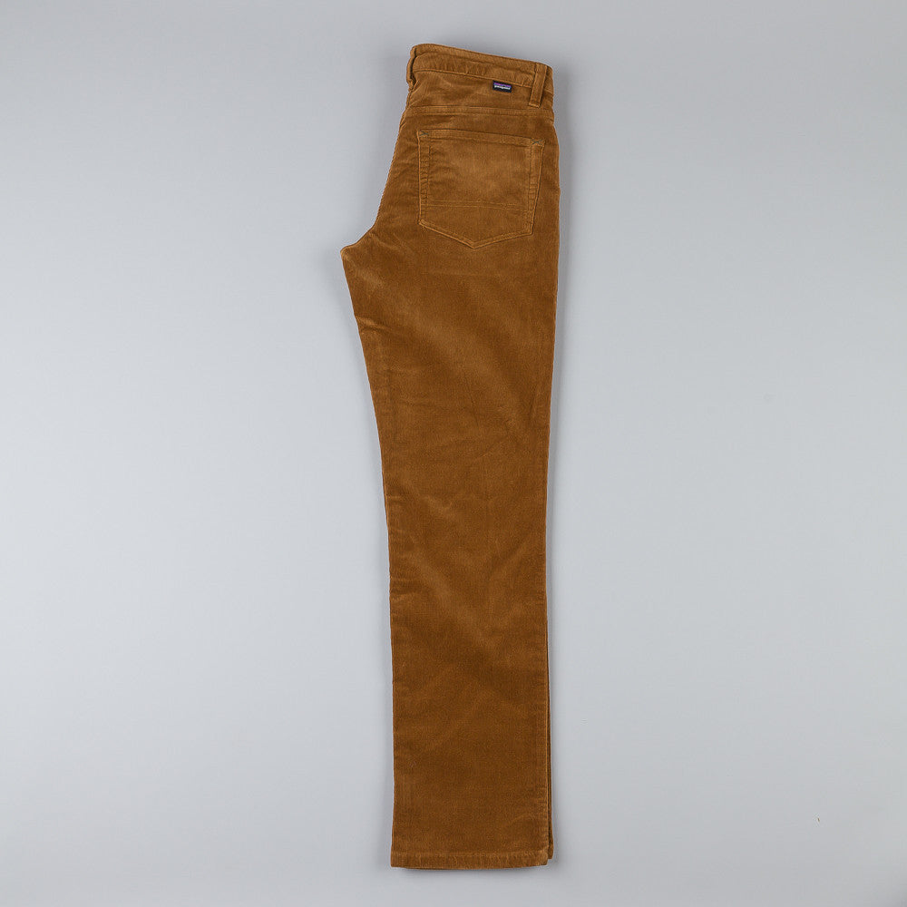 Patagonia Straight Cord Trousers - Bear Brown