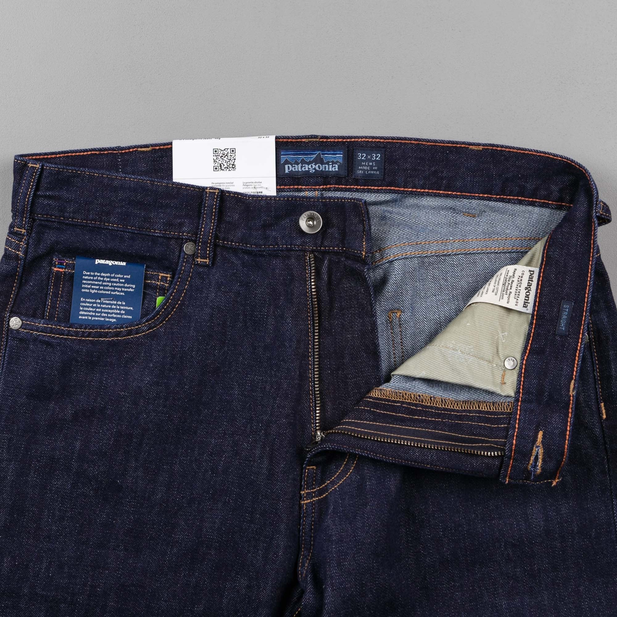 Patagonia Straight Fit Denim Jeans - Regular