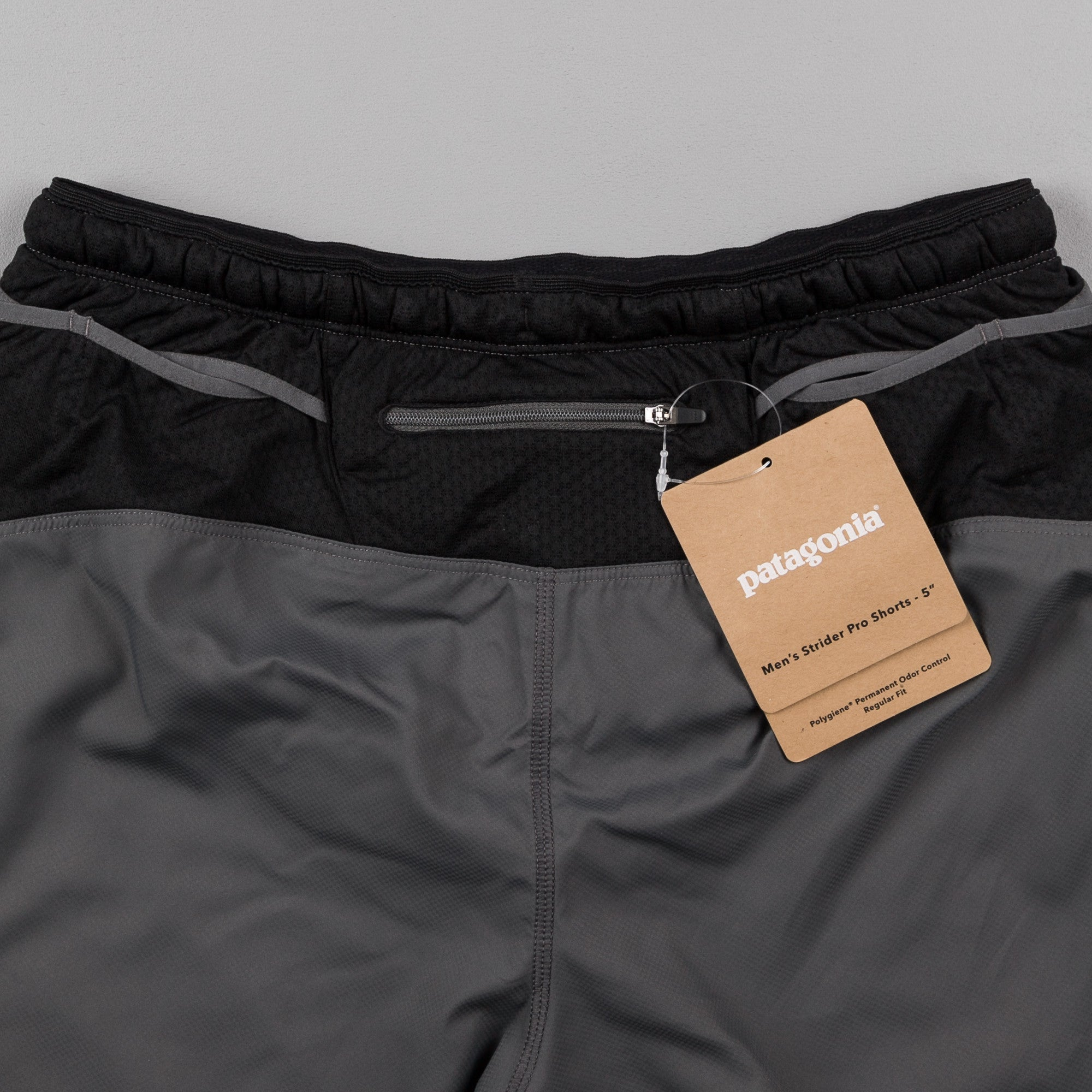 "Patagonia Strider Pro Shorts - 5"" Forge Grey"