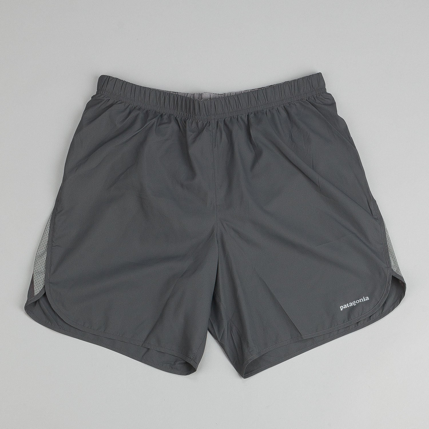 "Patagonia Strider Shorts 7"" - Forge Grey / Feather Grey"