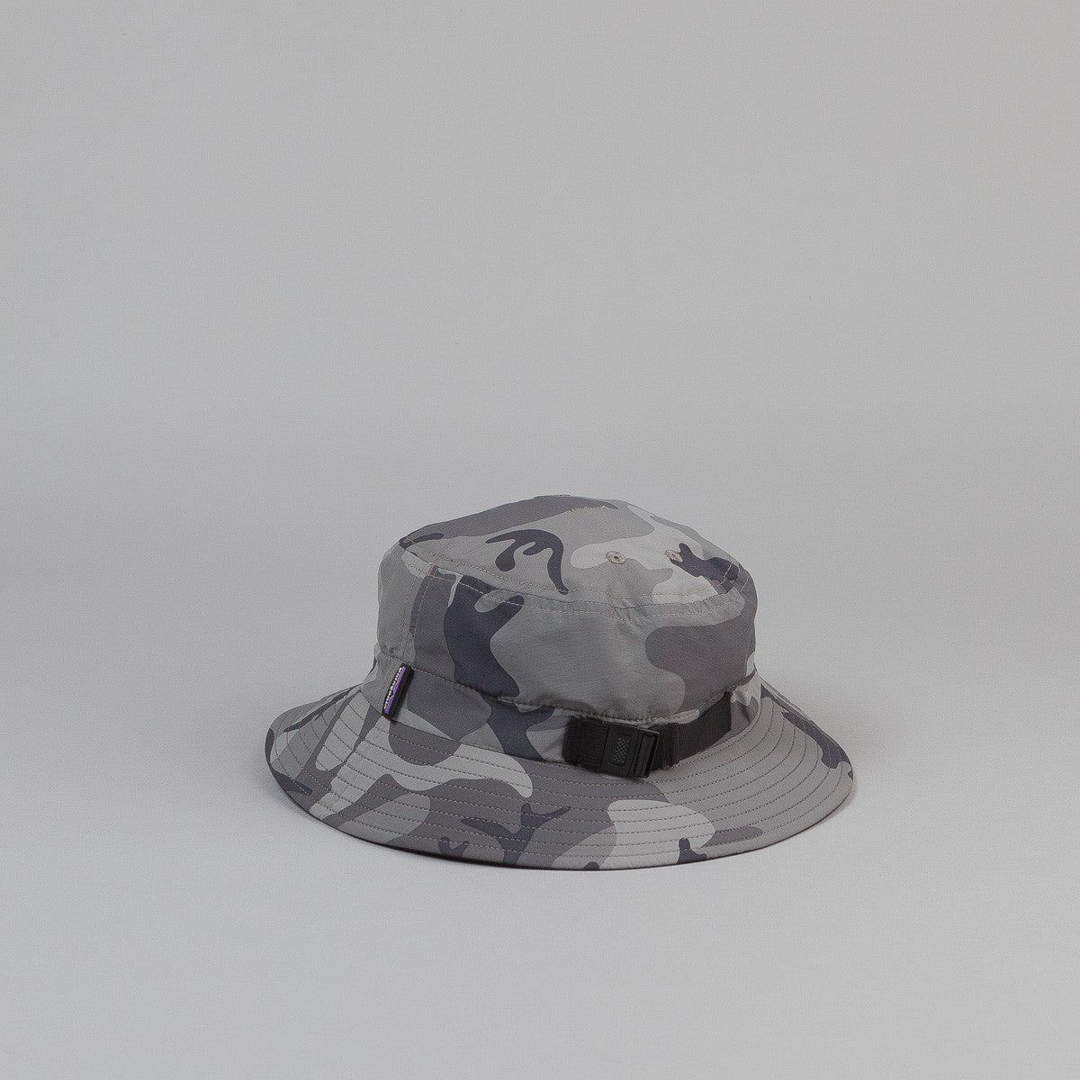 Patagonia Surf Brim Hat - Forest Camo: Forge Grey